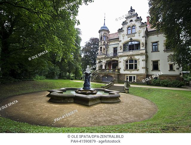 The registry office in Dresden-Blasewitz is pictured on 08 August 2013. The registry office located in an old mansion is the most beautiful office in the whole...