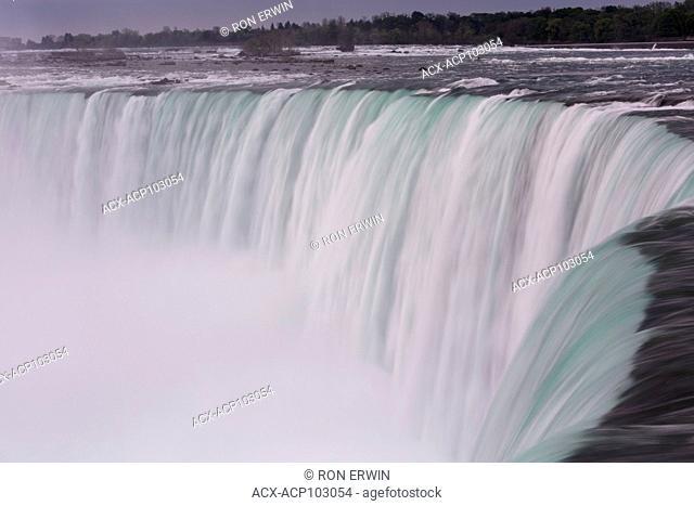 Brink of the Canadian Horseshoe Falls, Niagara Falls, Ontario, Canada