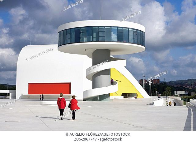 The Oscar Niemeyer International Cultural Centre, known as Centro Niemeyer, is the result of the combination of a cultural complex designed by Oscar Niemeyer...