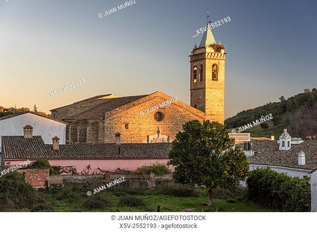 St. Martin Church. Almonaster la Real. Huelva. Spain