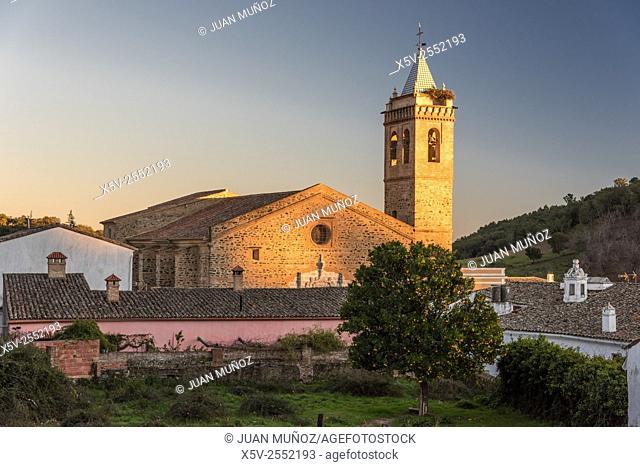 St. Martin Church. Almonaster la Real. Huelva. Spain