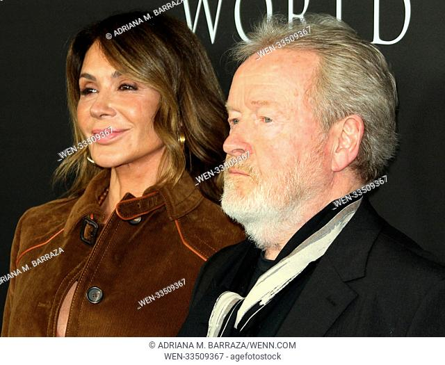 Los Angeles premiere of 'All The Money In The World' held at Academy's Samuel Goldwyn Theatre Featuring: Director Ridley Scott
