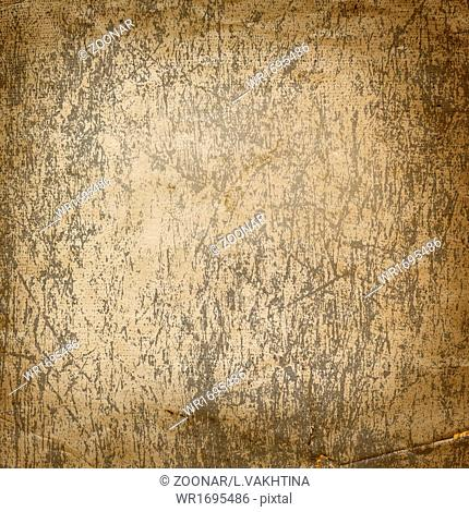 Abstract ancient background in scrapbooking style with gold ornamental