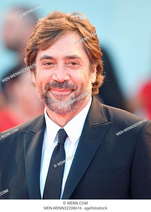 74th Venice Film Festival - Mother! - Premiere Featuring: Javier Bardem Where: Venice, Italy When: 05 Sep 2017 Credit: WENN.com