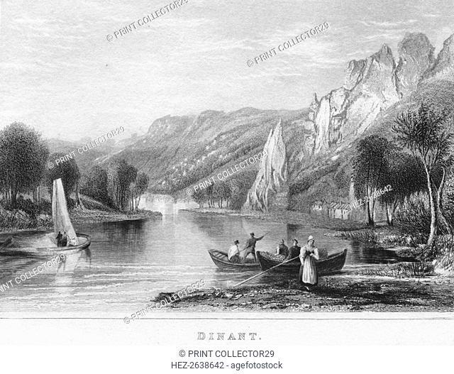 'Dinant', 1850. Artist: Shury & Son