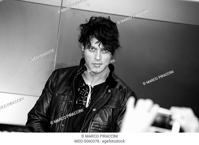 The actor Gabriel Garko (Dario Oliviero) - one of the hosts of the 66th Sanremo Music Festival. Sanremo, Italy. February 2016