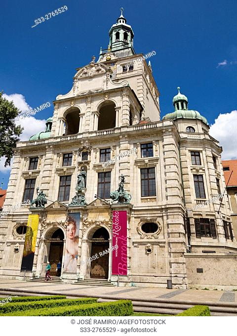 Bavarian National Museum in Munich. Germany. Europe