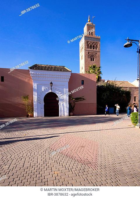 Koutoubia Mosque, 1158, Medina, Marrakech, Marrakech-Tensift-Al Haouz, Morocco