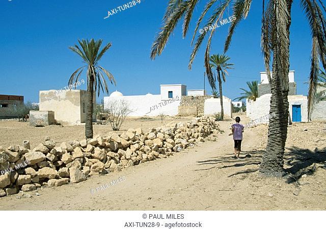 Menzel old farmhouse, Djerba, Tunisia