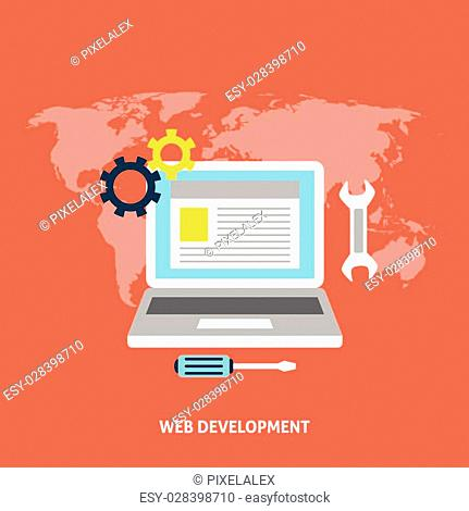 Web development and search. Search engine optimization