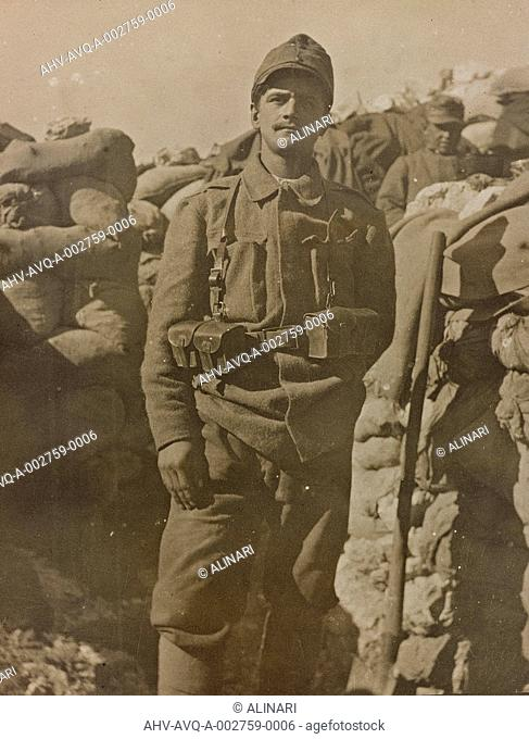World War I: Bohemian deserter a prisoner of eighteen, shot 1917