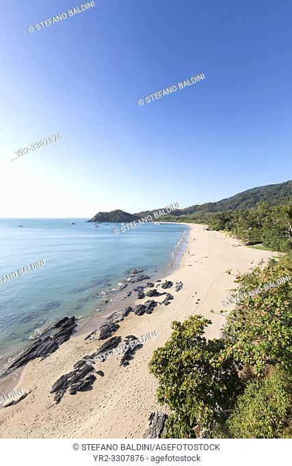 View over Ba Kantiang bay, Ko Lanta, Thailand