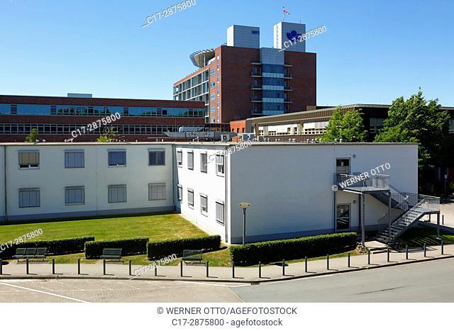 Germany, Bochum, Ruhr area, Westphalia, North Rhine-Westphalia, NRW, Bochum-Wiemelhausen, Berufsgenossenschaftliches Universitaetsklinikum Bergmannsheil