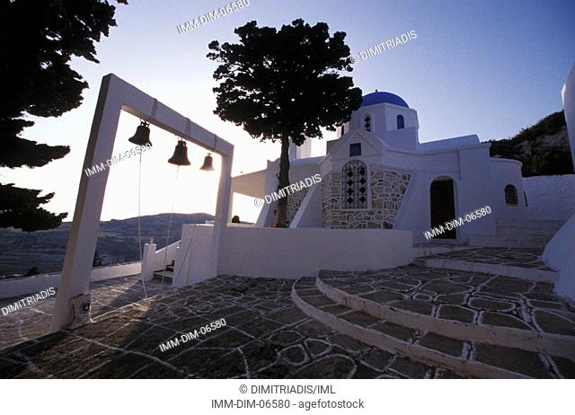 The Christ of the Woods Monastery, Paros, Cyclades, Greece