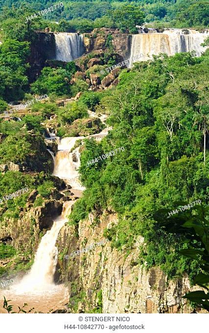 Iguazu Falls, Iguazu, national park, Iguassu Falls, Brazil, South America, America, Argentina, South America, Attracti