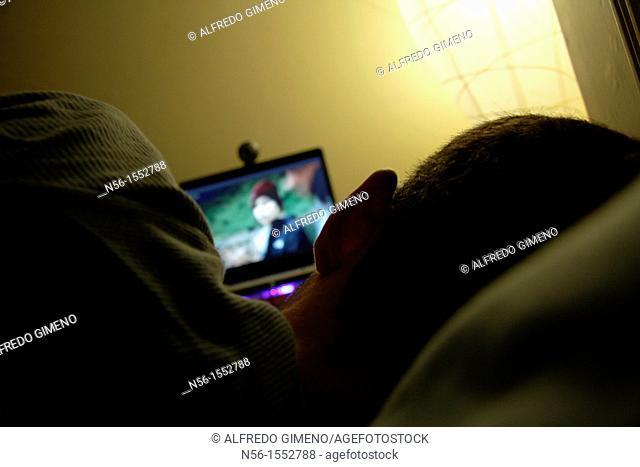 Watching digital TV