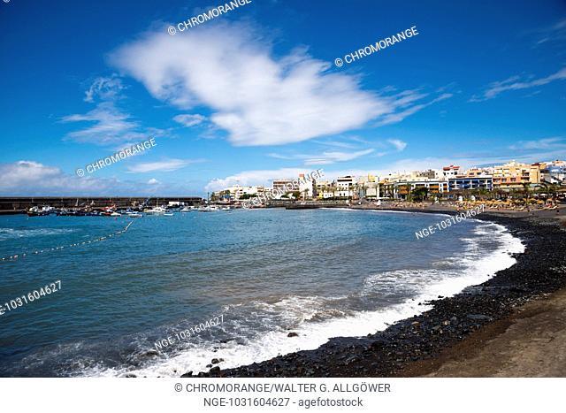 Strand, Playa San Juan, Playa de San Juan, Provinz Santa Cruz de Tenerife, Westküste, Teneriffa, Kanarische Inseln, Spanien, Europa