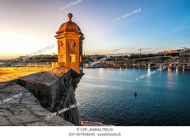 Fort Saint Michael in Senglea, Malta