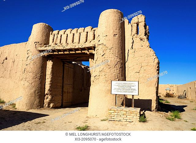 Ola Uilik Turkmens Fortress of Ulli Khavli, near Khiva, Uzbekistan