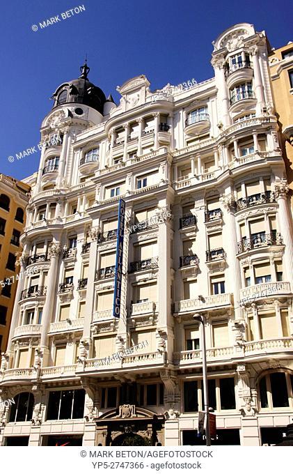 Hotel Atlantico Gran Via Madrid Spain