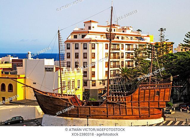 Navy museum of Barco de la Virgen. Santa Cruz de La Palma municipality